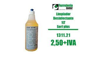 Sorf Plus Marino: desinfectante de superficies (1 L) - Pool Chemical