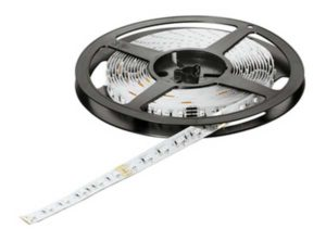 Banda LED RGB,acortable, LED 2014 – Loox,12 V longitud: 5000 mm, Clase de eficiencia energética A++