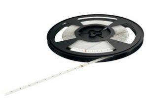 Banda LED de silicona,Häfele Loox LED 3031, 24 V Color de la luz: Blanco cálido 2700 K hasta blanco frío 5000 K, 5000 mm, Clase de eficiencia energética A+
