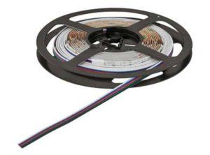 Banda LED,LED 1157, Lámpara con cambio de color RGBW, 24 V