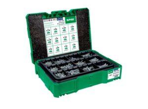 Caja SPAX Box systainer T-Loc I, kit de tornillos con 12 dimensiones, Cabeza plana, T-STAR plus, 4CUT, WIROX