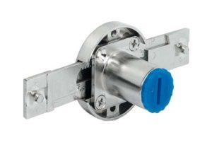 Cerradura de varilla de empuje,Symo, carrera 16 mm Para combinar con núcleo intercambiable Symo –, montaje: lad
