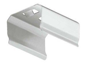 Clip de fijación,Para perfiles para montaje bajo estantes de aluminio Häfele Loox