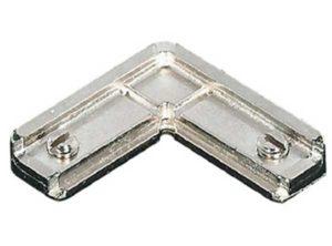 Herraje de unión para esquinas,para perfiles de marco de aluminio para cristal 23/26/38 x 14 mm