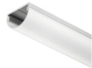 Perfil para cajón Häfele Loox,Perfiles de aluminio Cristal de dispersión mate