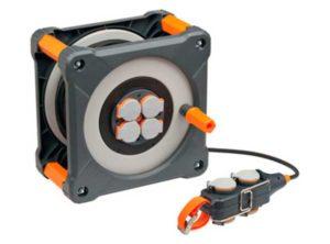 bobina de cable,Brennenstuhl professionalLine IP44, Con bloque de alimentación longitud de cable: 33 + 5 m cable de alimentación