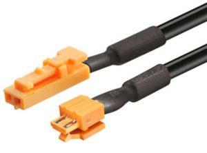 cable de alimentación,Para consumidores Loox modulares, 12 V, Con pieza de conexión insertable