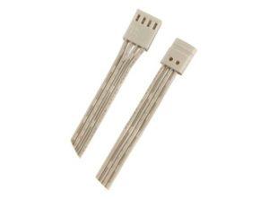 cable de alimentación,Para mezclador de colores, Con clip, Para banda de silicona LED Loox de 10 mm RGB 12 V Longitud: 2500 mm