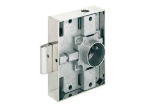 cerradura de varilla giratoria,Häfele Heavylock, Con cilindro intercambiable, Entrada 40 mm