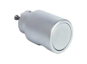 pomo giratorio,Sistema de montaje 30 mm, Sin combinación de cierre Cromado mate